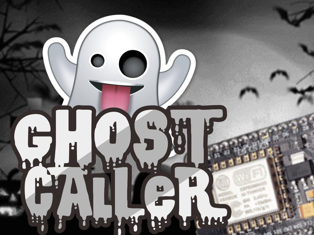 NodeMCU Ghost Caller Prank