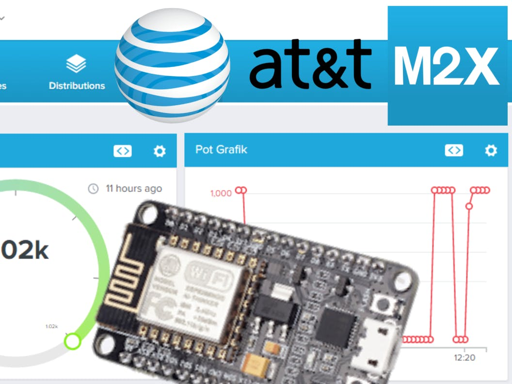 NodeMCU and AT&T M2X