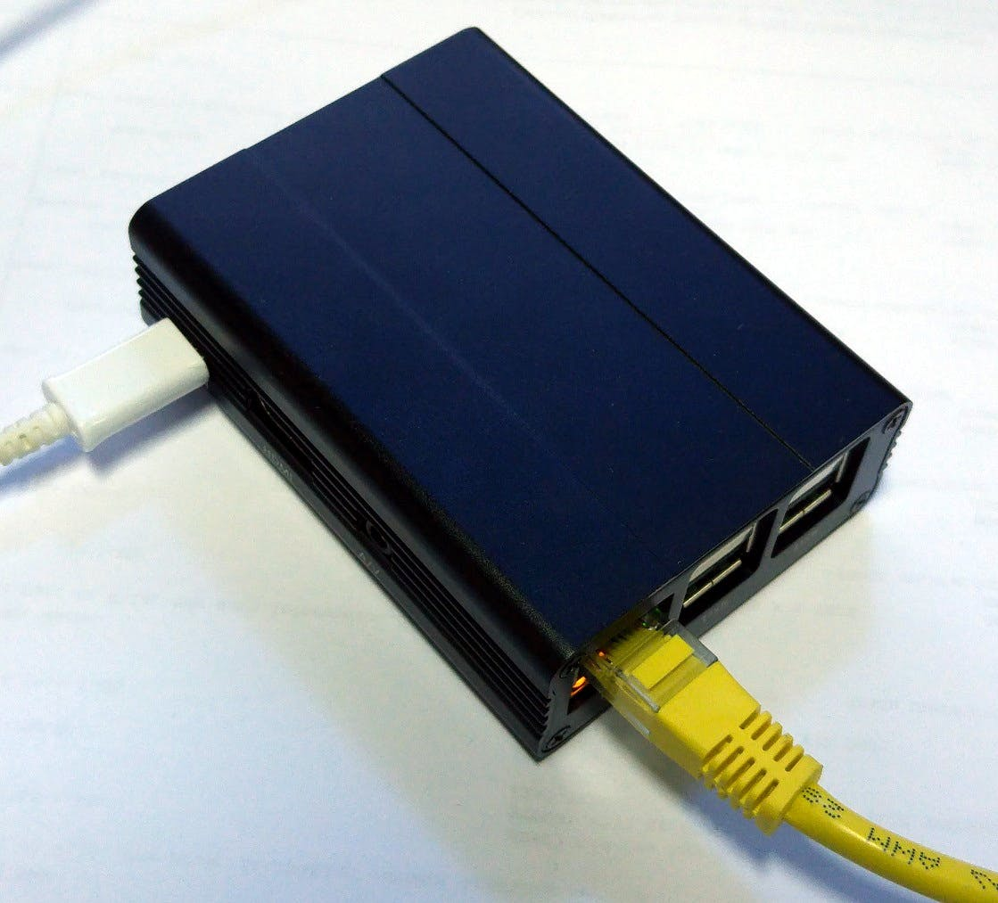 Image 2. Raspberry Pi in an enclosure