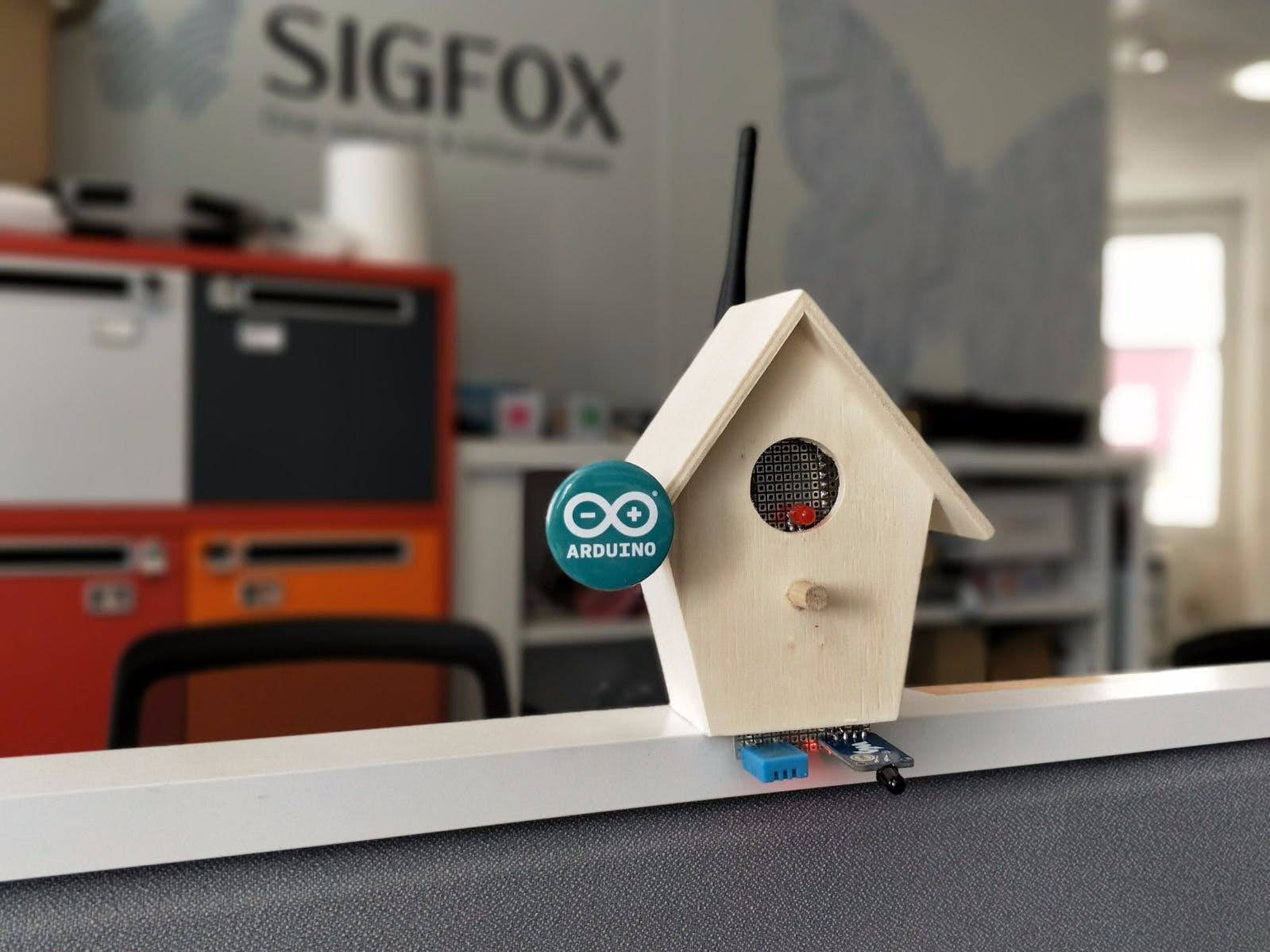 Sigfox Forest Fire Detector