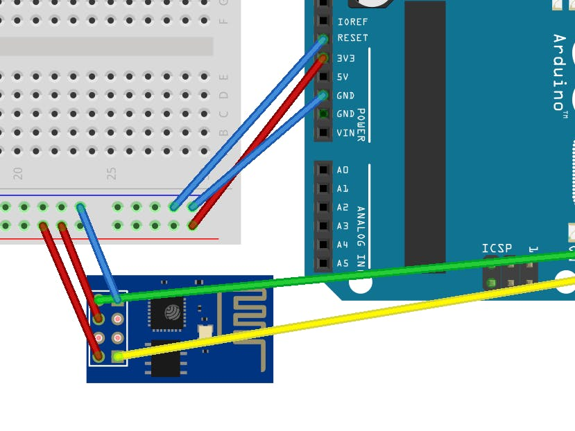 How to Communicate with ESP8266 via Arduino UNO - Arduino Project Hub