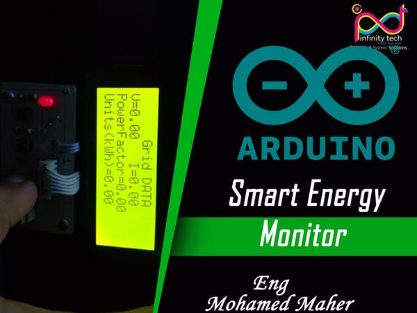 Smart energy monitor based on arduino project hub