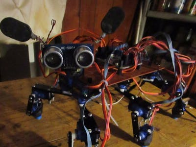 Hank the HexaPod - Mega Bread Robotics Series # 7
