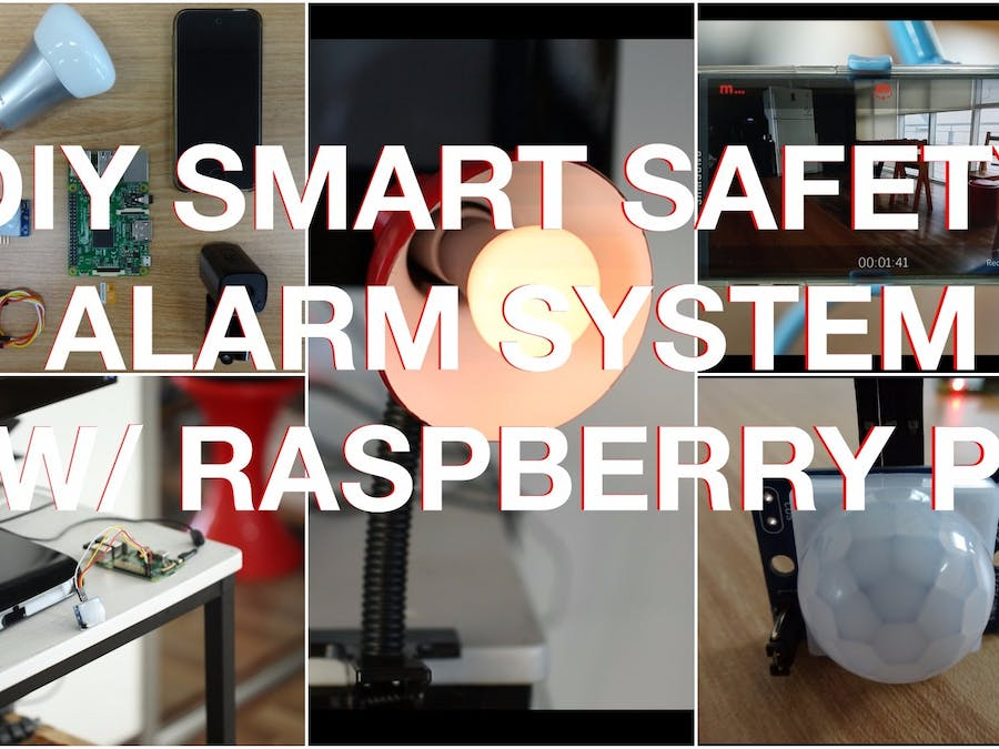 DIY Cheap Safety Alarm System w/ Raspberry