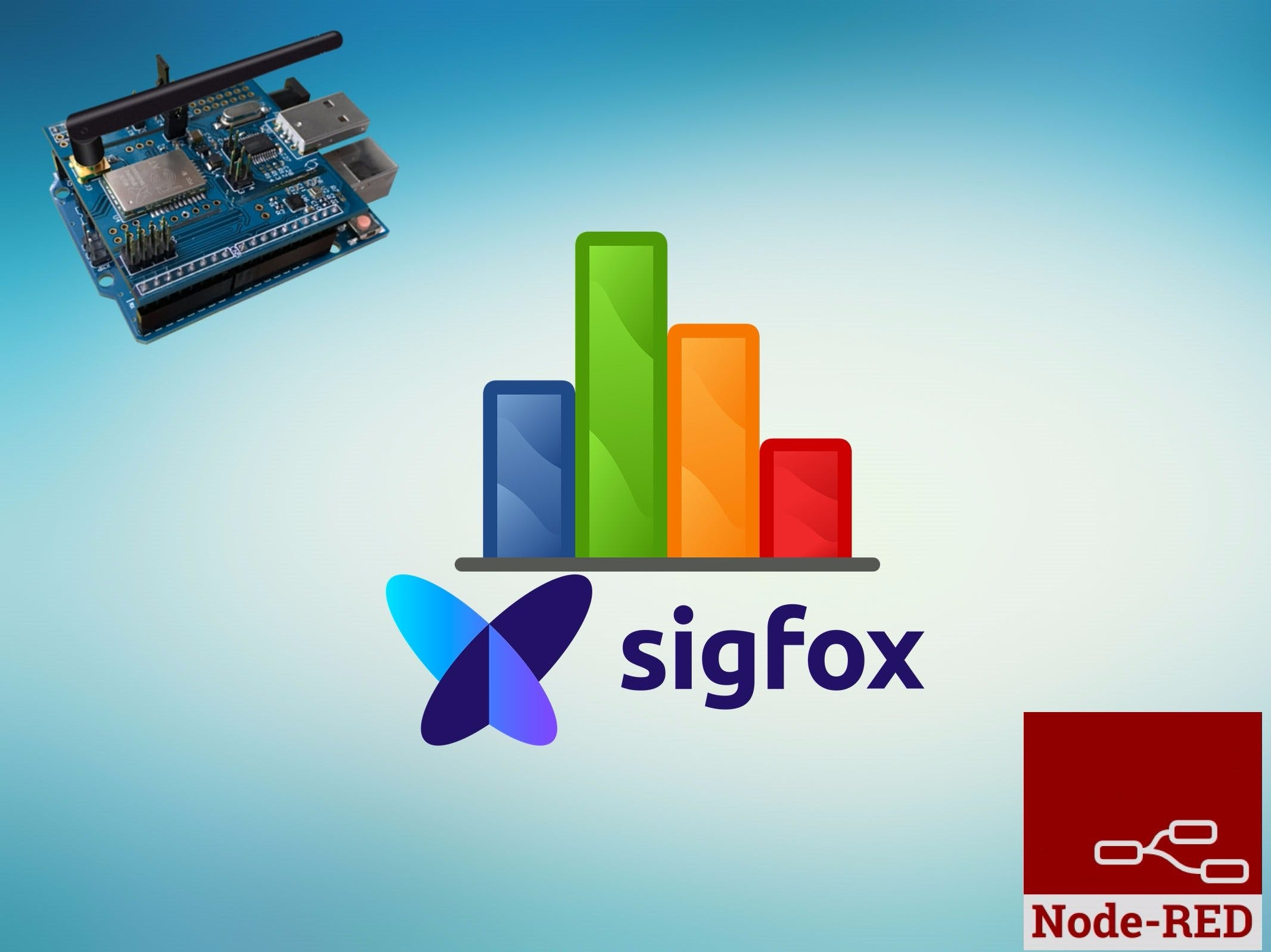Create a Custom Dashboard for Your Sigfox Kit Using NodeRed