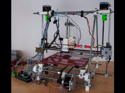 Wax RepRap 3-D Printer for Microfluidics
