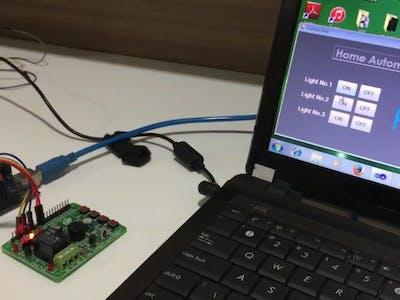 Arduino with Vb.net GUI control
