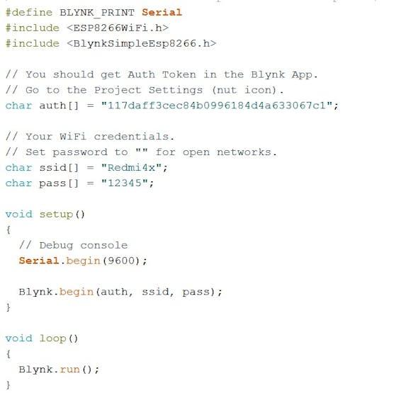 Gambar 1: Pemrograman NodeMCu pada Aruino IDE