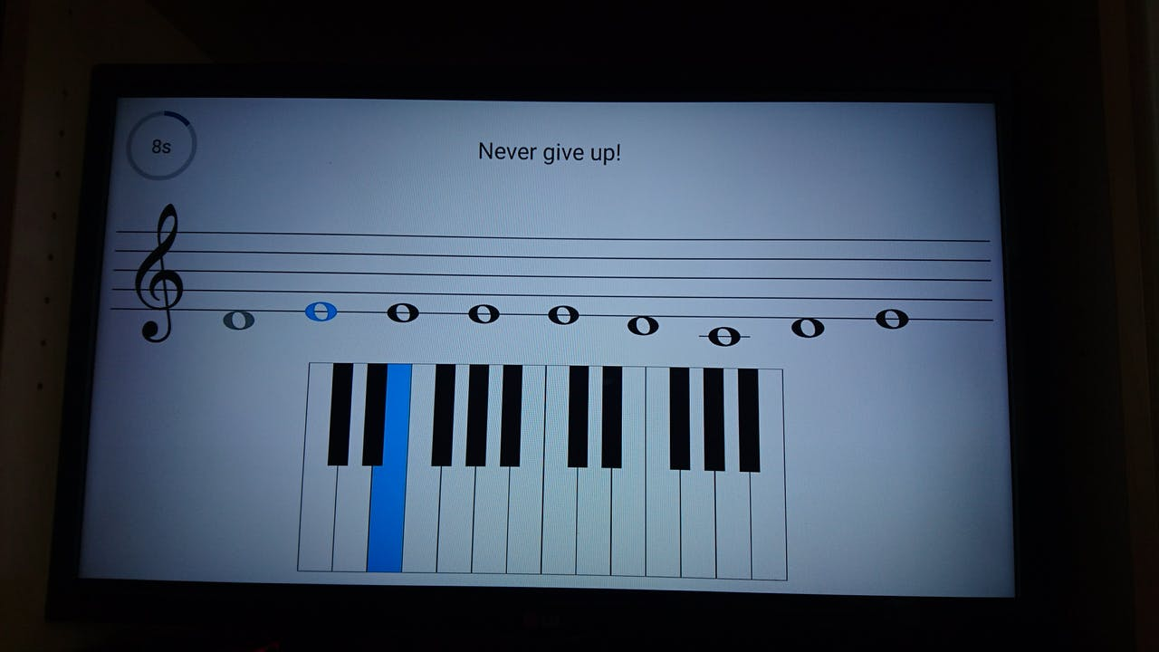 Piano Hero Game Using Android Things - Hackster io