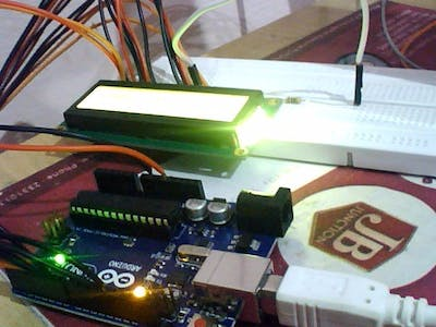 How to Use A 16x2 LCD with arduino
