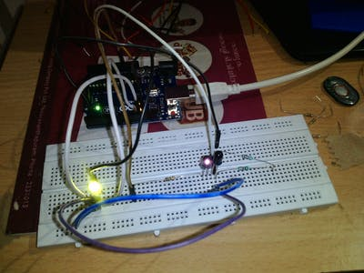 Simple Obstacle Sensor with Arduino