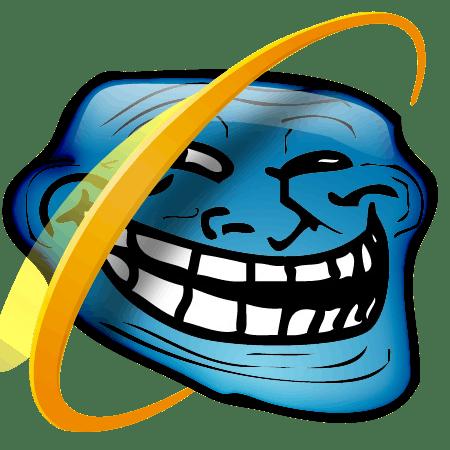 Internet troll face explorer omrokhszvk
