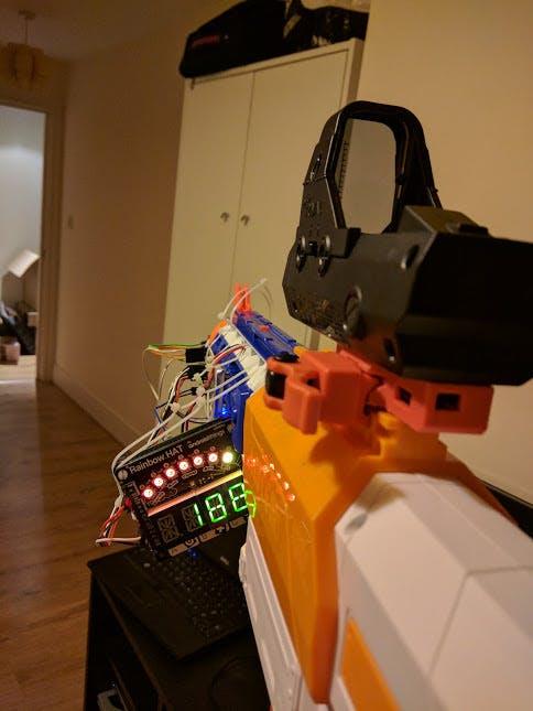 Nerf Gun Ammo Counter / RangeFinder