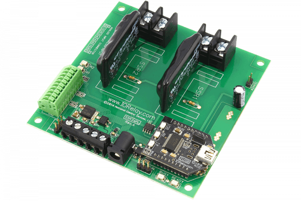 Solid State Relay Controller 2-Channel + 8 Channel ADC ProXR Lite