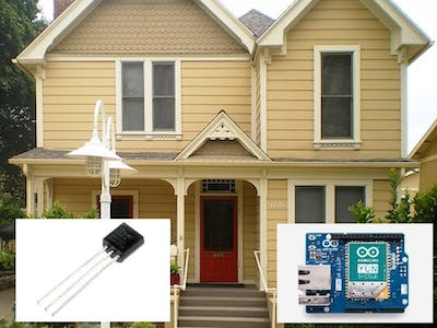 Know the Temp of Your Home From Anywhere with Arduino Cloud!