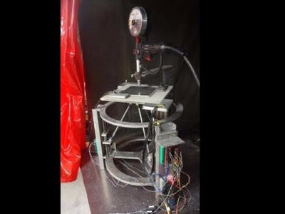 Control of Magnetic Ball-Jointed Metal 3-D Printer