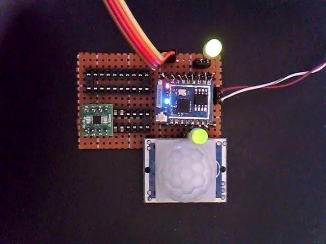 ESP8266 - PIR Motion sensor detection