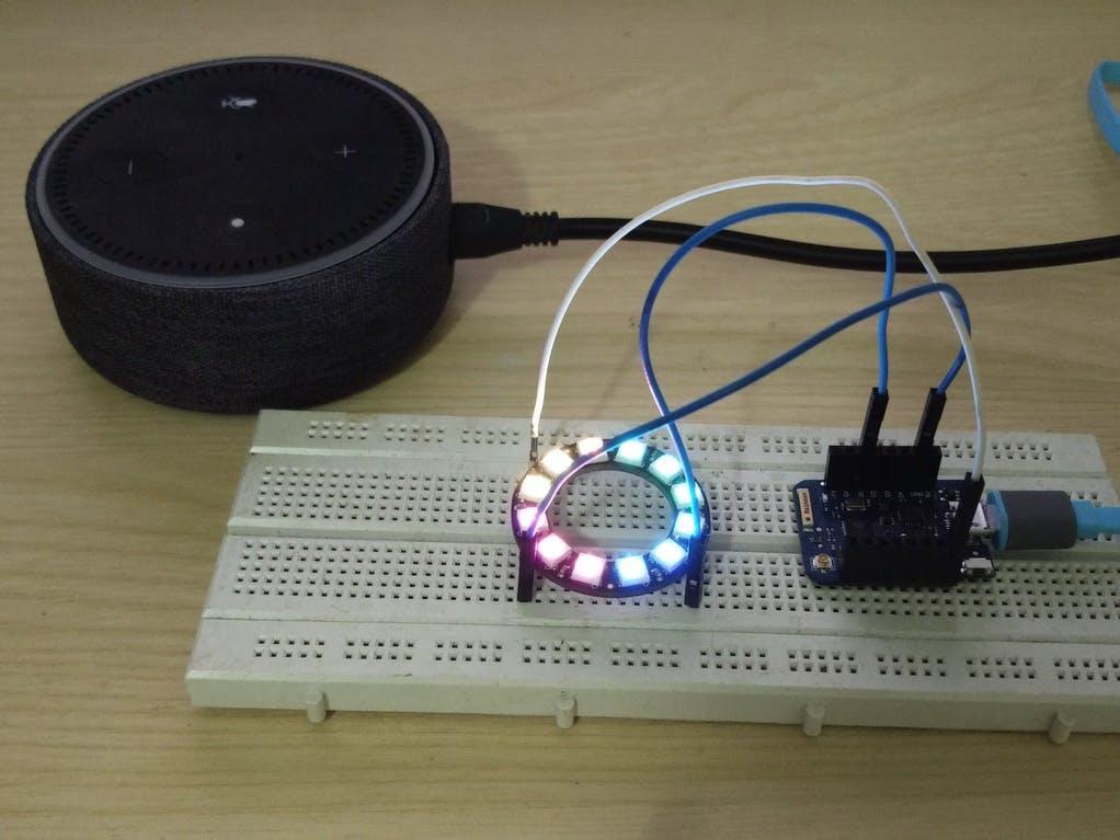 Control RGB LED Strip using Amazon Echo Alexa and NodeMCU