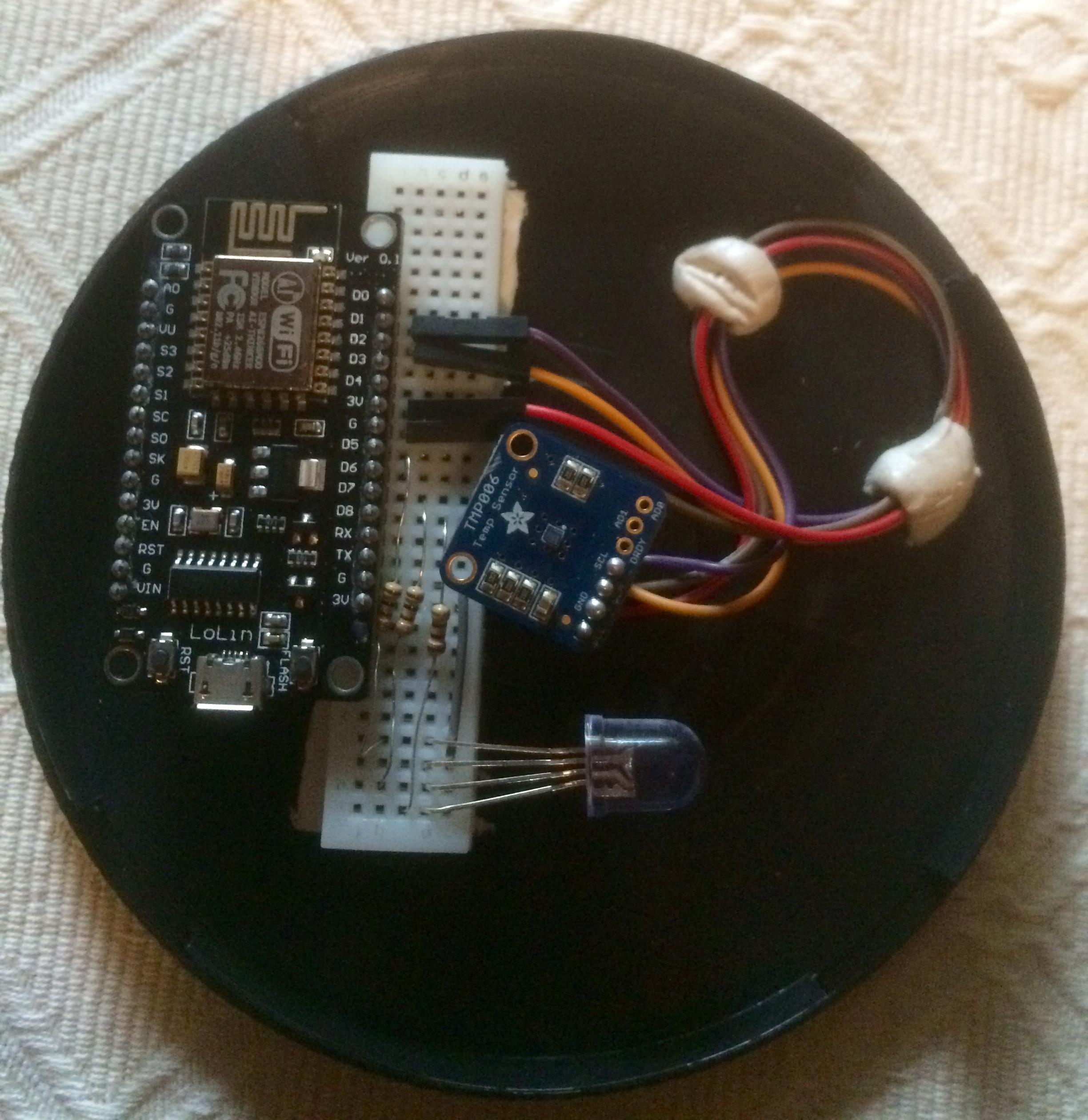 SC² - Smart Cup Coaster - Hackster io