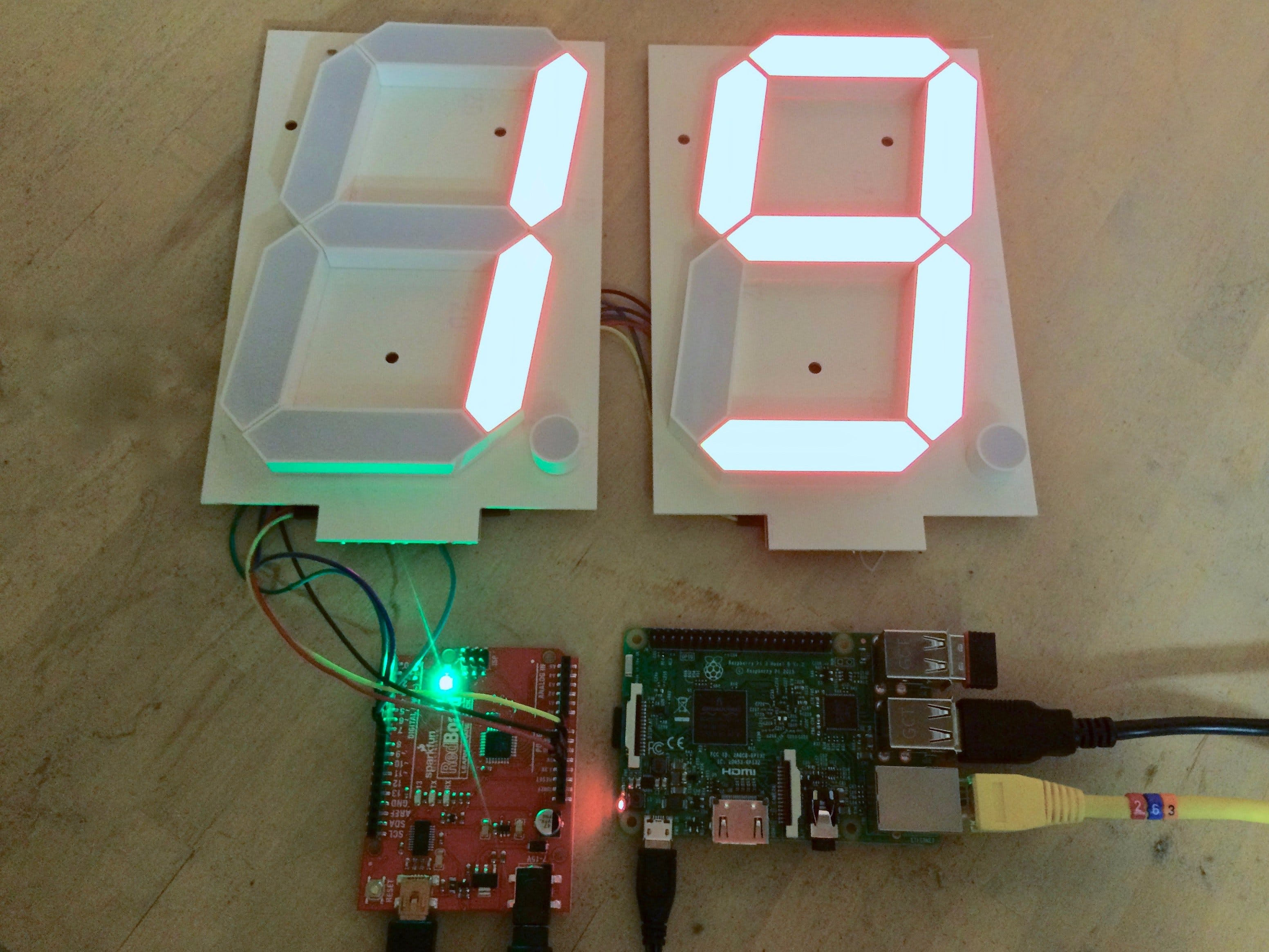 A Raspberry Pi Network Scanner