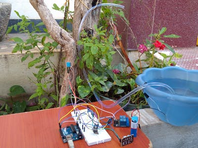 IoT Based Garden Automation And Monitoring System