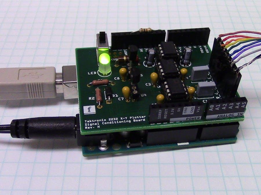Analog XY-Plotter Output to HP-GL Translator