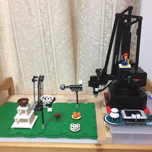 Esplora + Swift Pro + LEGO = fun!