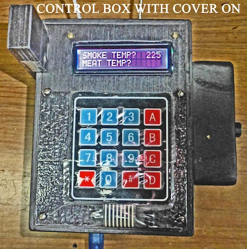 CONTROL BOX (COVER ON)