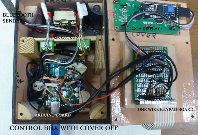 CONTROL BOX (COVER OFF)