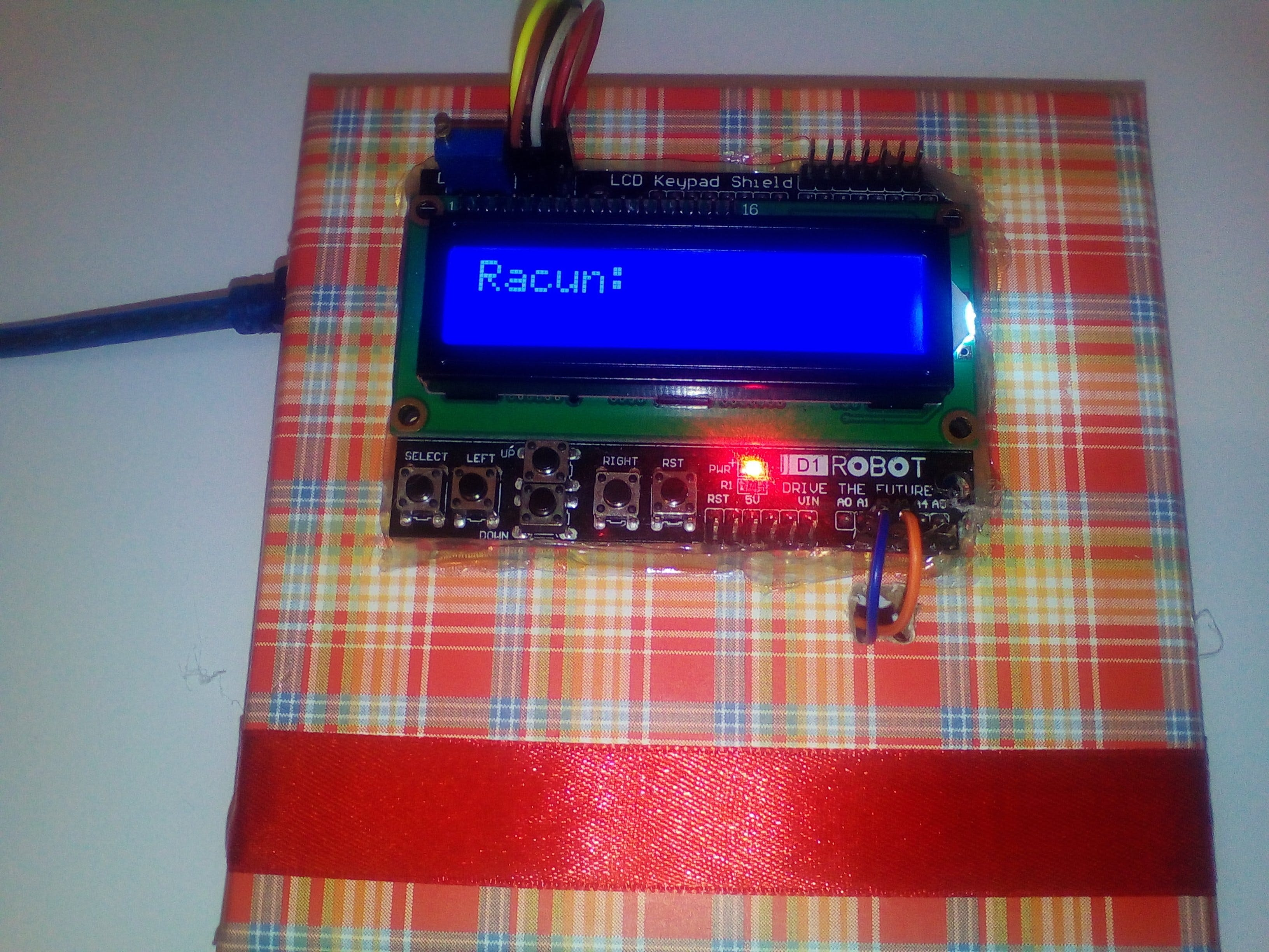 Arduino Cash Register