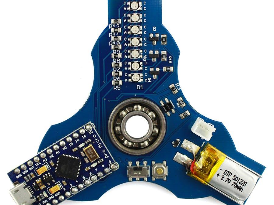 Lightino STEM Fidget Spinner