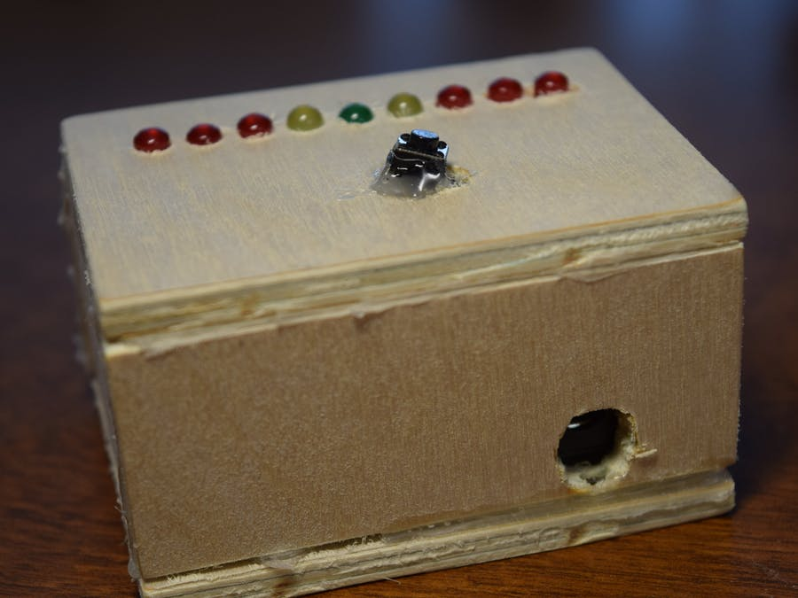 LED Roulette Game
