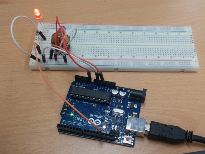 Adjusting the LED Brightness