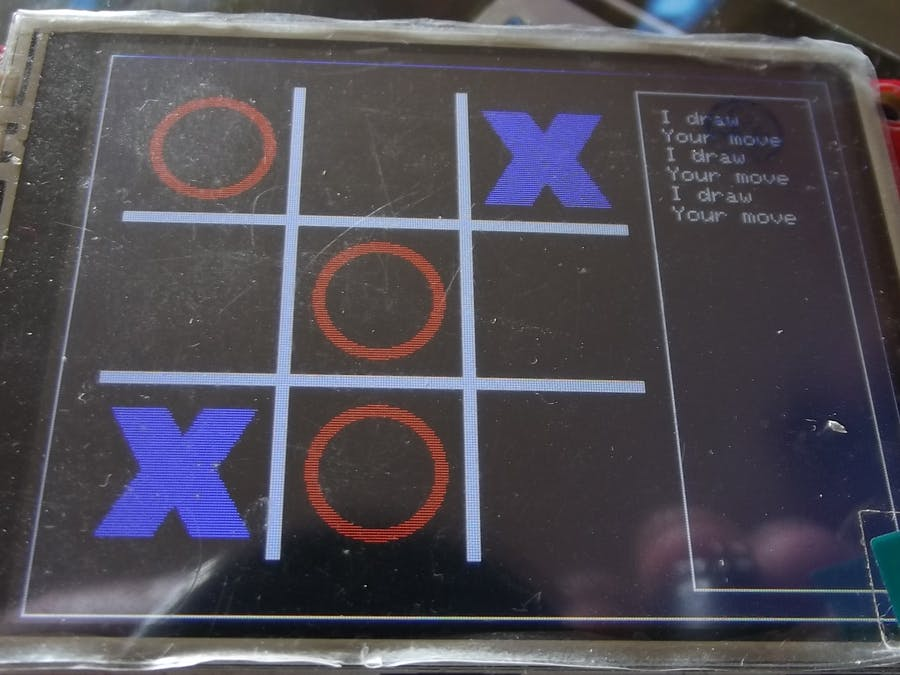 Arduino Due TIC TAC TOE with Touchscreen