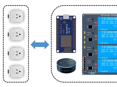 Alexa - NodeMCU: WeMo Emulation Made Simple