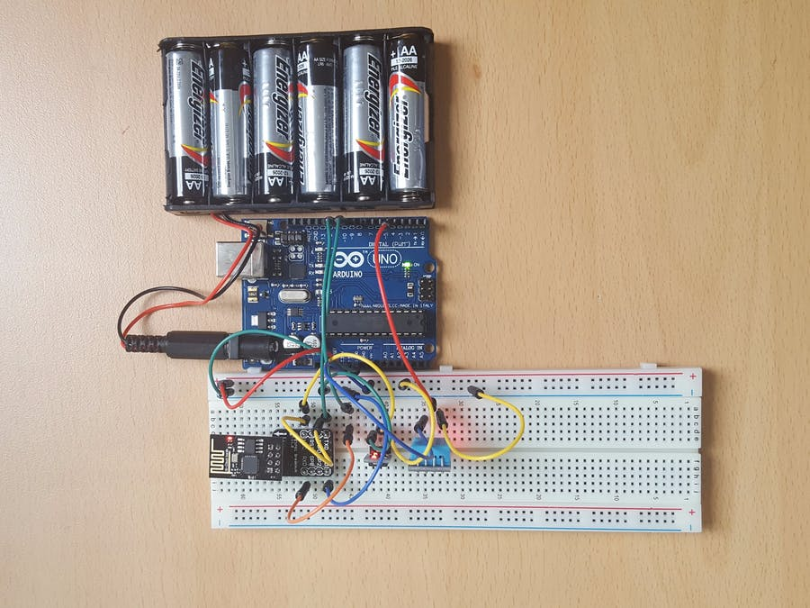 Temperature and humidity meter (iot)