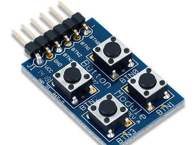 Using the Pmod BTN with Arduino Uno