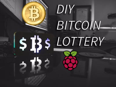 DIY Bitcoin Lottery with Raspberry Pi