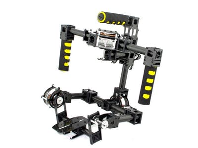 DSLR Gimbal w/Point Tracking & Lens Control