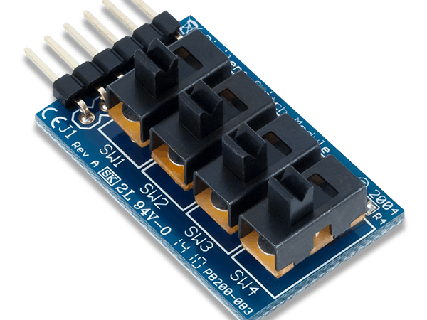Using the Pmod SWT and Pmod LED with Arduino Uno