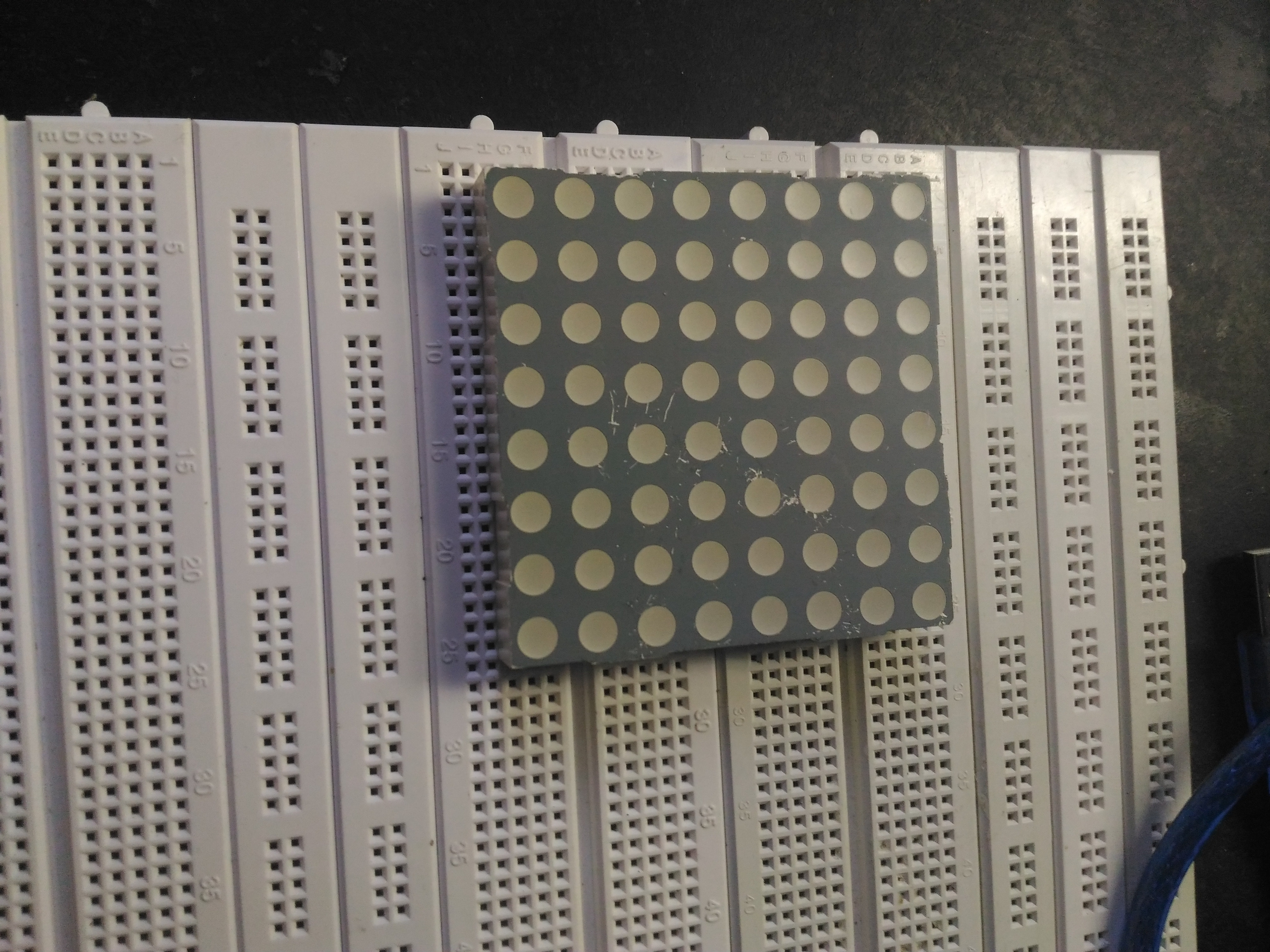 48 x 8 scrolling led matrix using arduino hackster io rh hackster io