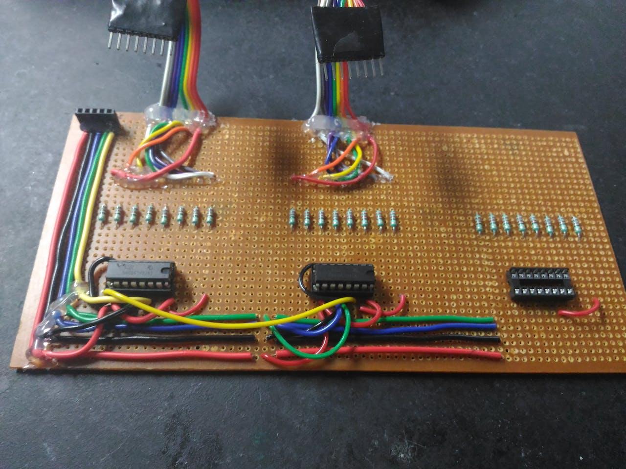 48 X 8 Scrolling Led Matrix Using Arduino Digital Meter Also Circuit Diagram On Voltmeter