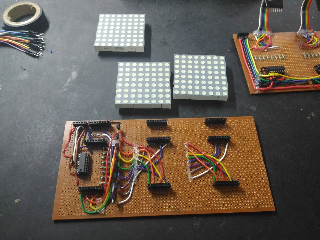 48 X 8 Scrolling Led Matrix Using Arduino Circuit Digest Electronic Circuits Projects Community