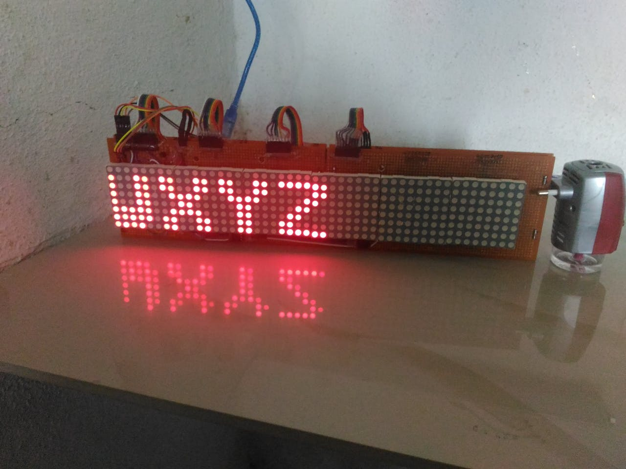 48 X 8 Scrolling Led Matrix Using Arduino Digital Signage Wiring Diagram