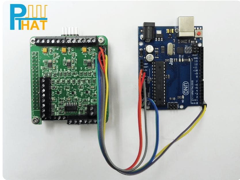 Using the Pulse Train HAT with Arduino Boards