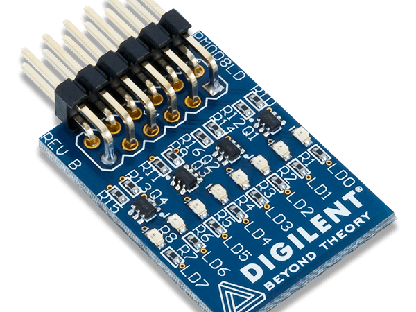 Using the Pmod 8LD with Arduino Uno