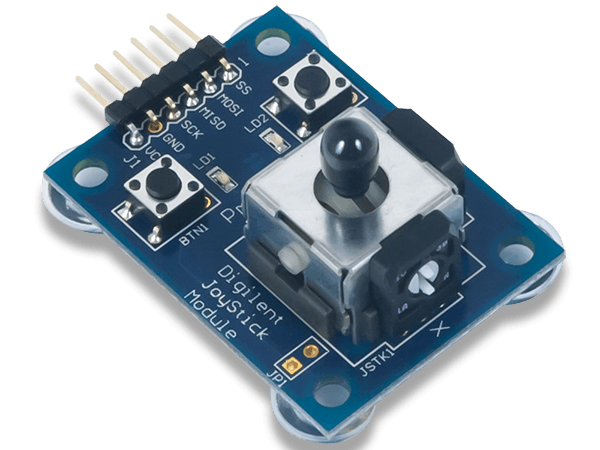 Using the Pmod JSTK with Arduino Uno
