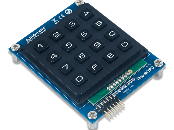 Using the Pmod KYPD with Arduino Uno