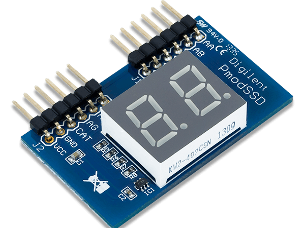Using the Pmod SSD with Arduino Uno