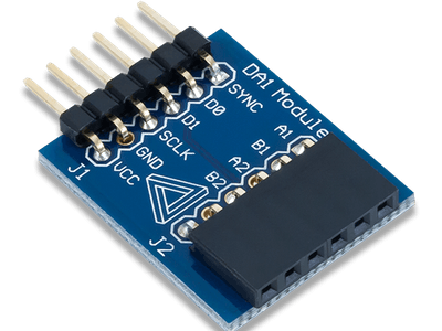 Using the Pmod DA1 with Arduino Uno
